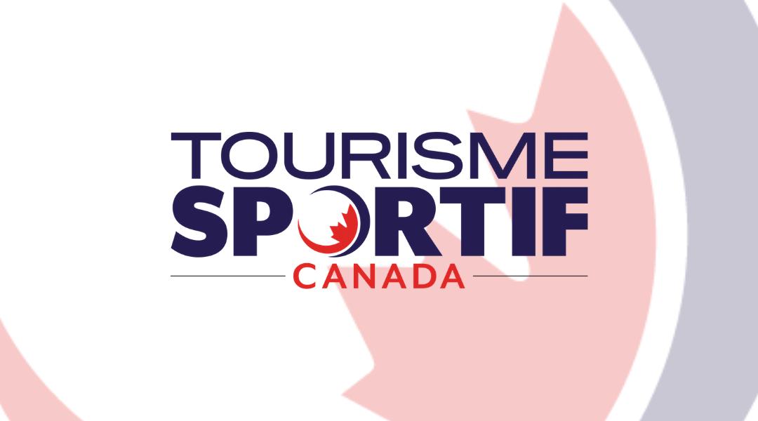 sport tourisme canada logo rouge et bleu